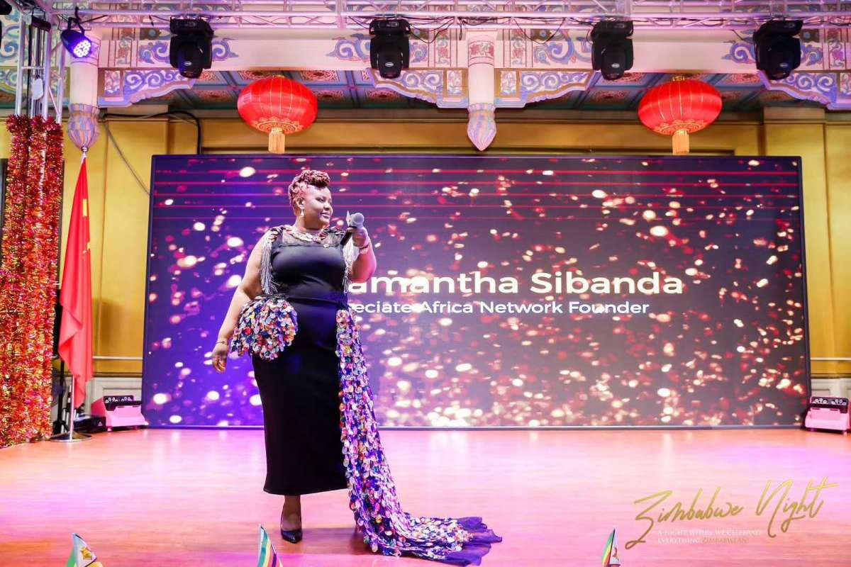 Reclaiming the narrative: Samantha Sibanda's Pride of Africa