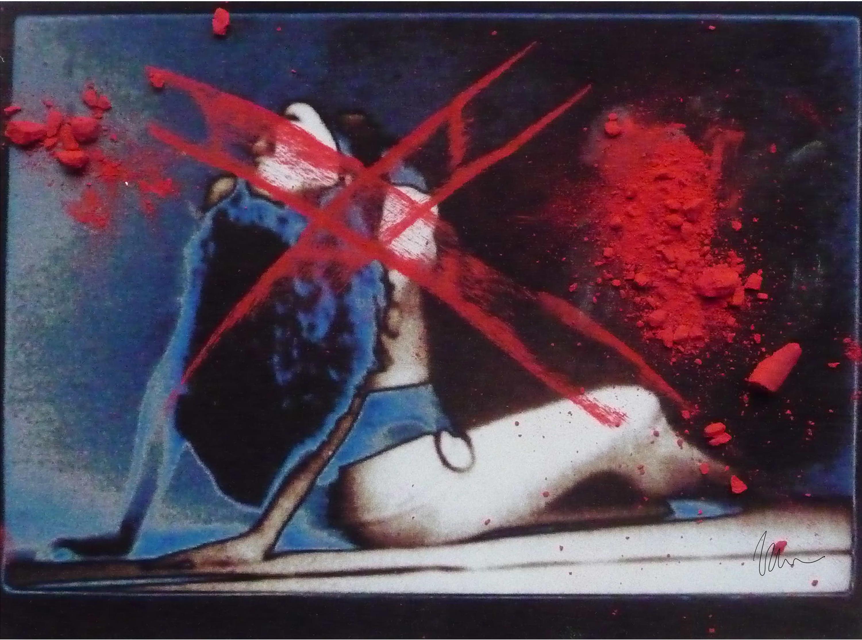 """Still LIfe in Red"" by Mark Wiener"