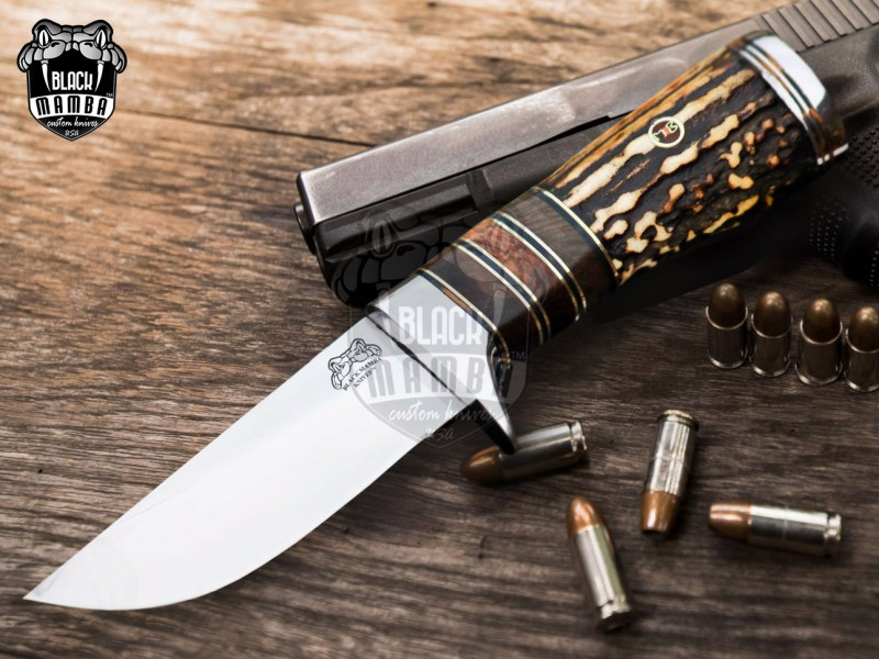 fixed blade knife for hunting