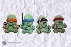 Llaveros de las Tortuhas Ninja (Teenage Mutant Ninja Turtles)
