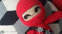 Crochet Ninja Black Mambart