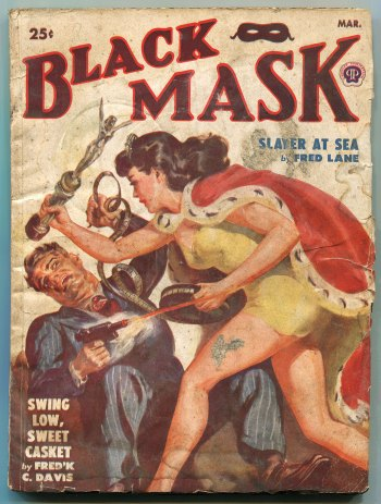 Black Mask Magazine (March 1950)