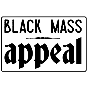 Black Mass Appeal enamel pin