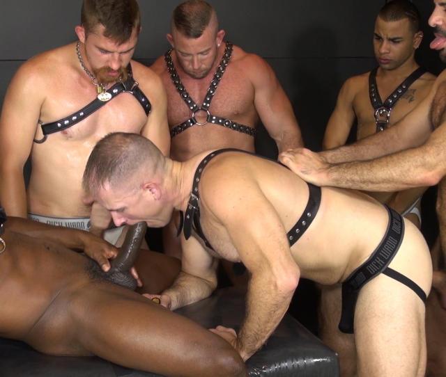 Bareback Gay Orgy Black Raw