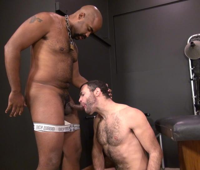 Hairy Pup Taking Raw Interracial Daddy Loads Bareback  C2 B7 Nuttybutt Gay Porn