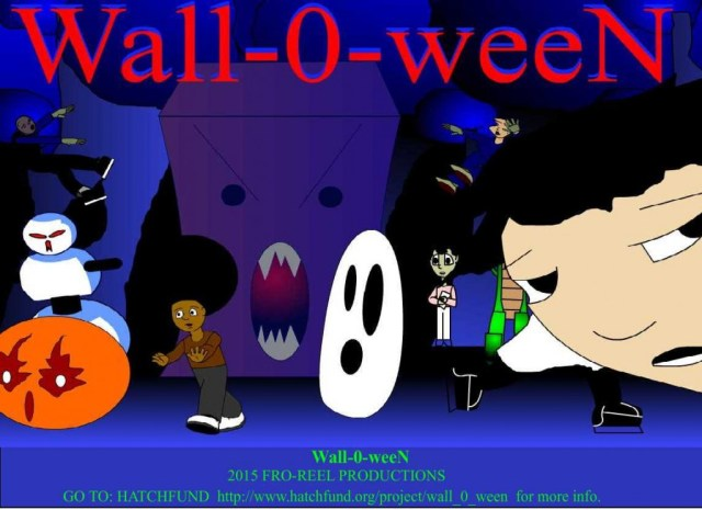 walloween hatchfund poster sarah words