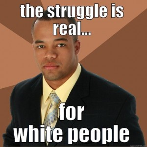 White People Poster