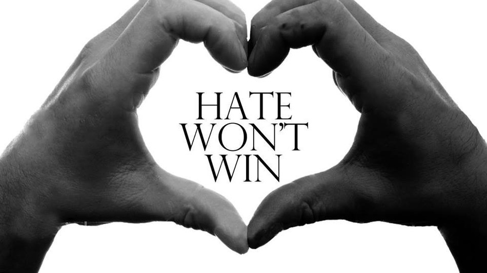Hate Won't Win – Join The Movement