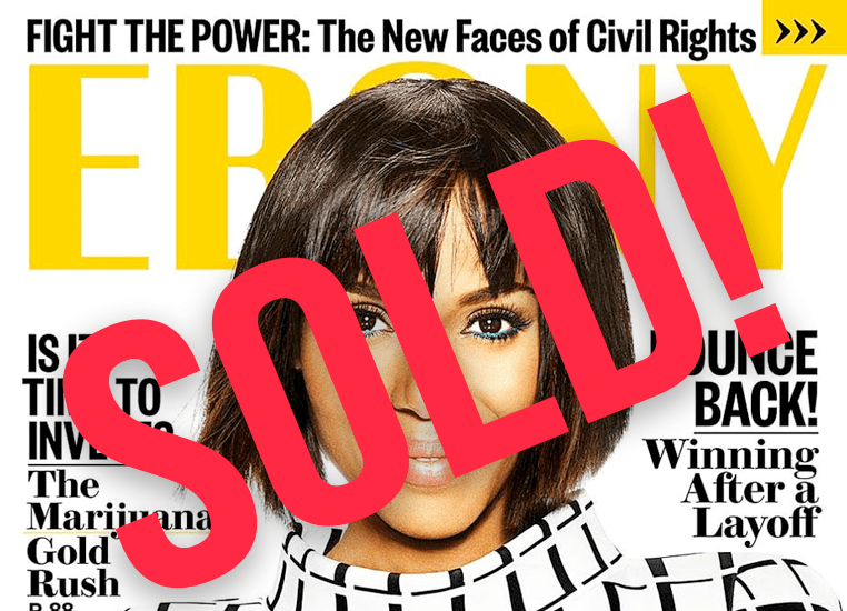 Iconic Black Magazine Sold