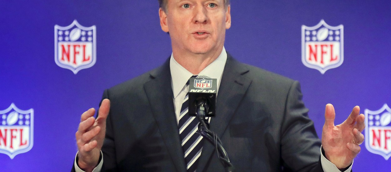NFL Gives $100 Million to Blacks' Causes by William Reed