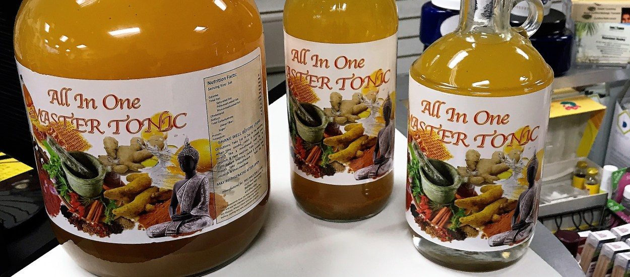 Herbal Infusion:  Home of the All-In-One Master Tonic