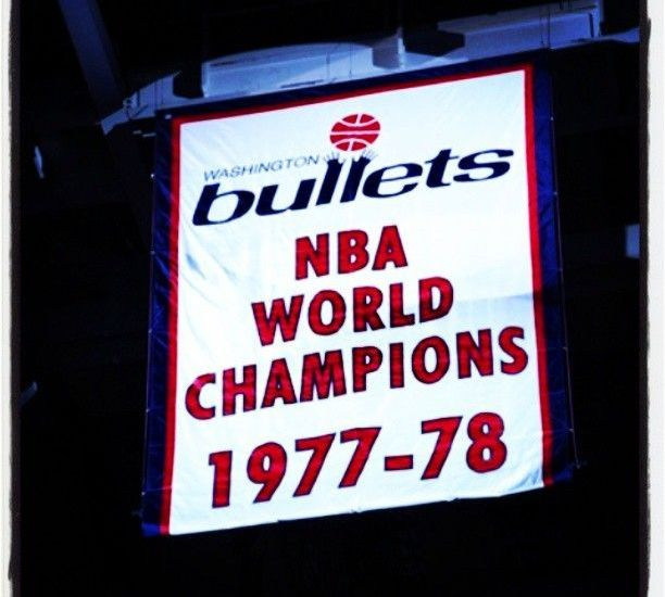 I Remember When The NBA Was Wild About Harry and the NBA Champion Bullets by Harold Bell