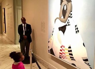 #RepresentationMatters: Two Year Old Meets Michelle Obama After Viral Post