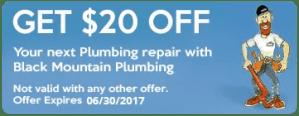 plumbing repair coupon San Diego CA