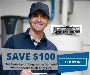 Plumbing coupons San Diego CA - Black Mountain Plumbing