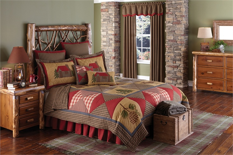 Cabin Quilt Quilted Bedding Amp Home Decor