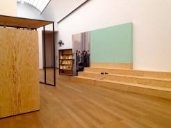 """Ausstellungsansicht, """"Black Mountain. Ein interdisziplinäres Experiment 1933-57"""", Hamburger Bahnhof - Museum für Gegenwart - Berlin."""