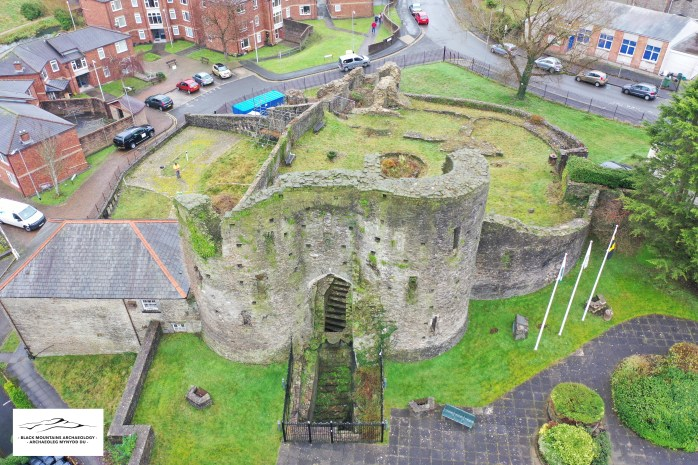 Neath Castle (c) Black Mountains Archaeology