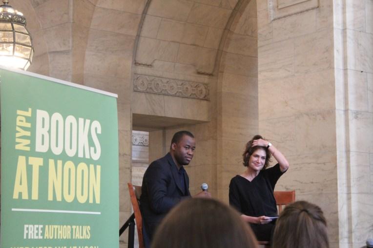 Chigozie Obioma at the NYPL