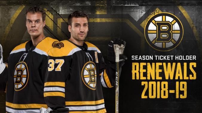 Bruins Season Tix