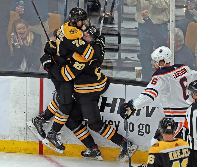 Boston Bruins vs Edmonton Oilers