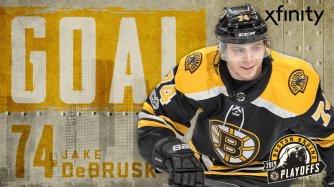 DeBrusk Goal