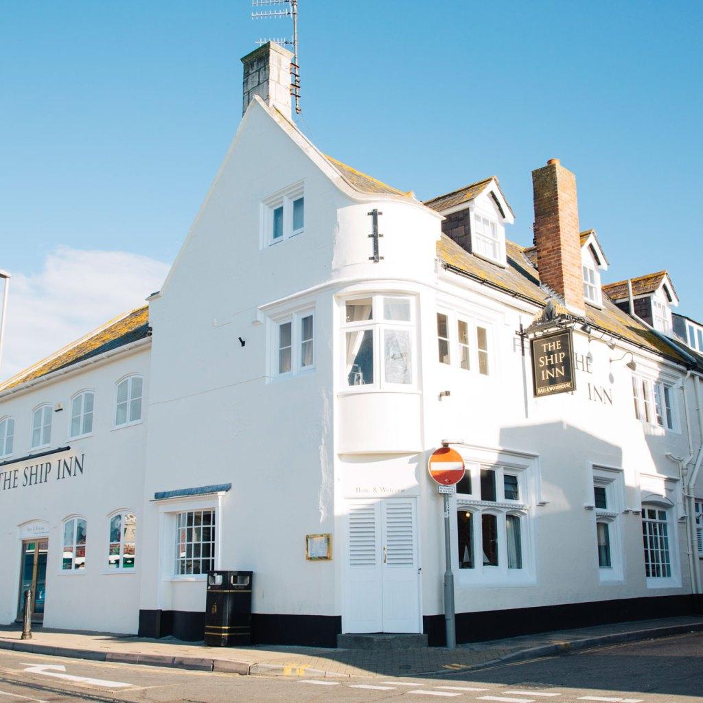 The Ship Inn Weymouth outside
