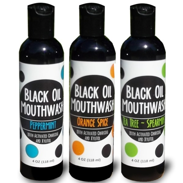 Black Oil Mouthwash Trio Pack
