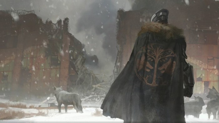 Rise of Iron - Concept Art - Saladin and Wolf