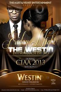AList - Friday Night @ The Westin
