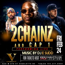 2 CHAINZ AT V CHARLOTTE TOURNAMENT FRIDAY NIGHT www.eventbrite.com