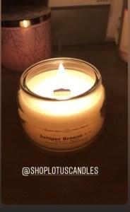 black-owned candle Juniper-Breeze