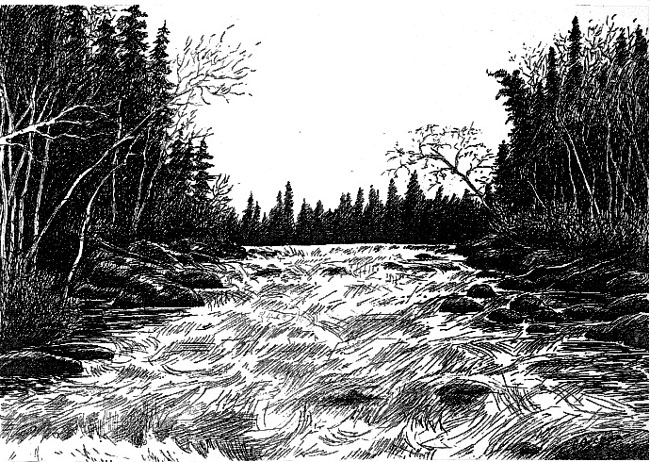 Hasil gambar untuk river sketch
