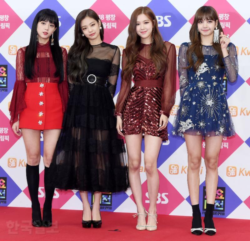 Blackpink Gayo Daejun Red Carpet