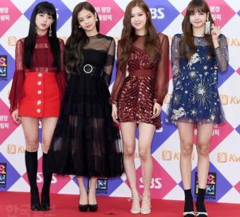 Blackpink Gayo Daejun Red Carpet