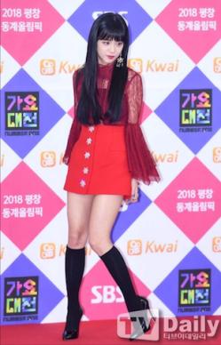 Blackpink Jisoo Gayo Daejun Red Carpet 2017