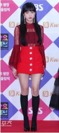 Blackpink Jisoo Gayo Daejun 2017
