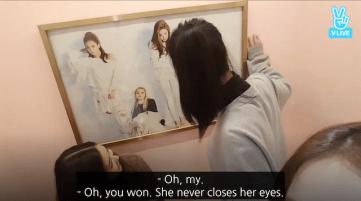 Blackpink Jisoo-Jennie Staring Contest 4