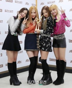 BLACKPINK won Best New Artist on The 31st Golden Disc Awards
