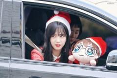 BLACKPINK Jisoo car photos leaving Inkigayo