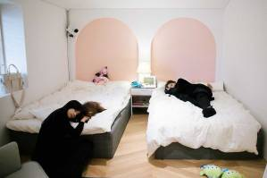 Blackpink House bedroom Jisoo Jennie
