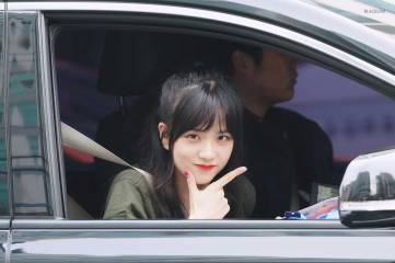 Blackpink Jisoo Car Photos Ingkigayo
