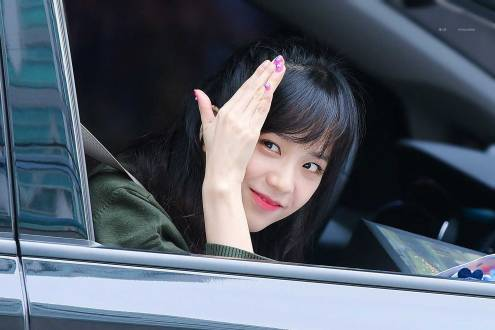 Blackpink-Jisoo-Car-Photos-Inkigayo