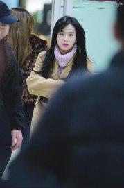 Blackpink Jisoo Winter Fashion Airport