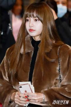 Blackpink Lisa Airport Fashion