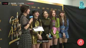 Blackpink talking about comeback GDA 2018