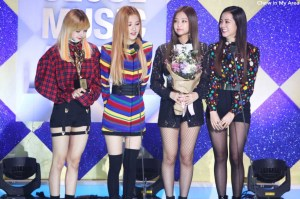 Blackpink won the Best New Artist Award on 26th Seoul Music Awards