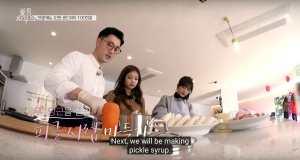 Jisoo jennie cooking blackpink House