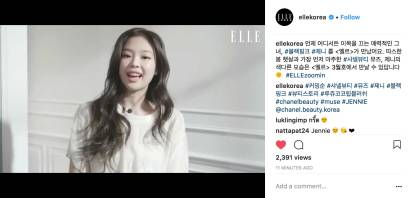 Blackpink Jennie Elle Korea March 2018 Issue