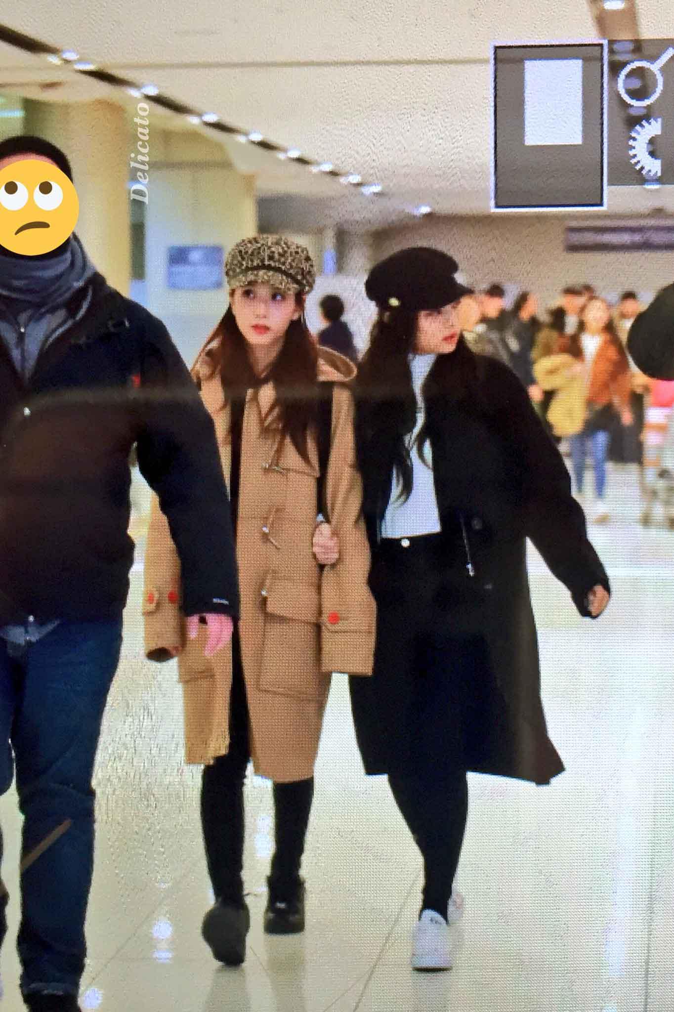 Blackpink Jisoo Jennie Winter Airport Style From Jeju Island